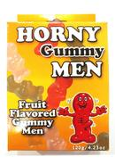 Horny Gummy Men Fruit Flavored Gummy Men 4.23 Ounce Box