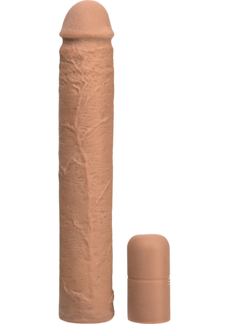 Xtend It Kit Realistic Penis Extender Brown 9 Inch