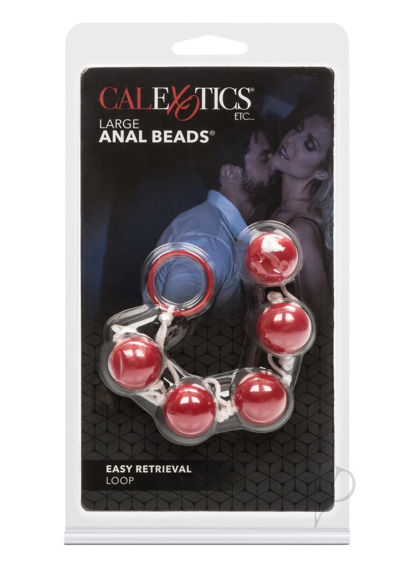 Anal Beads Large Pleasure Beads Assorted Colors